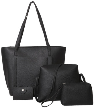 Shein Pocket Front Tote Bag & Crossbody Bag & Clutch & Card Holder