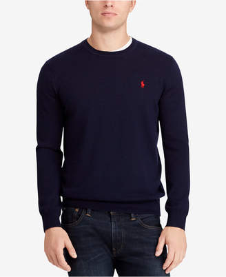 Polo Ralph Lauren Men's Big & Tall Merino Wool Sweater