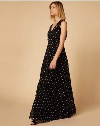 Juicy Couture Polka Dot Maxi Dress