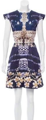 Mary Katrantzou Floral Printed Mini Dress