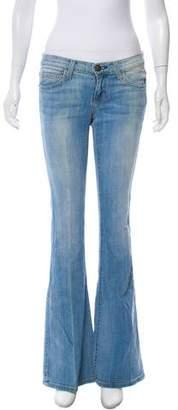 Current/Elliott Low-Rise Flare Jeans