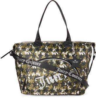 Juicy Couture Green Star Studded Weekender