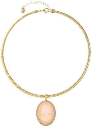 MONET JEWELRY Monet Jewelry Womens Pink Collar Necklace
