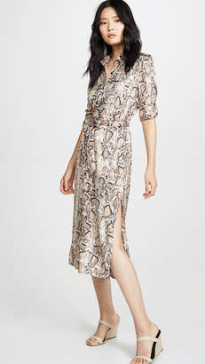 BB Dakota Python Print Shirtdress