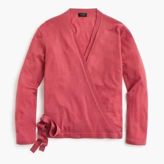 J.Crew Everyday cashmere wrap cardigan sweater