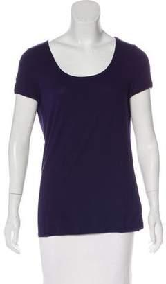 Armani Collezioni Short Sleeve Knit T-Shirt