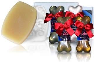Castle Baths Anna Pet Treatment Soap & Shampoo Bar Gift Set