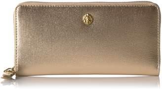Anne Klein Studded Slim Zip Around Wallet Wallet