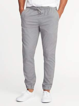 Old Navy Built-In Flex Twill Joggers for Men