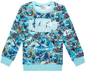 Kenzo Beach Print Sweatshirt