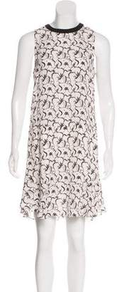 A.L.C. Sleeveless Printed Dress