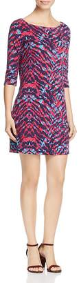 Leota Nouveau Zebra Print Knit Sheath Dress $98 thestylecure.com