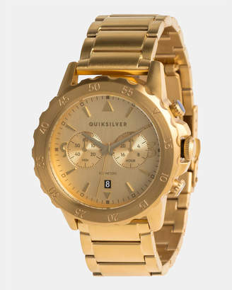 Quiksilver Mens Kombat 43mm Stainless Steel Watch