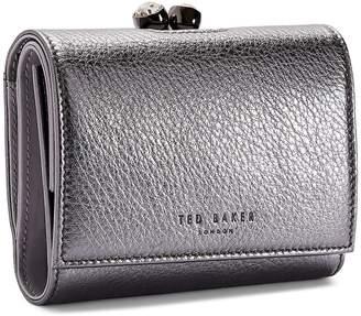 Ted Baker Valery Metallic Leather Bobble Wallet