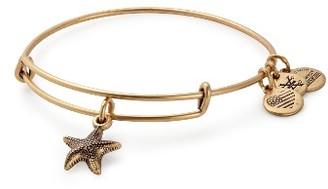Women's Alex And Ani Starfish Adjustable Wire Bangle $28 thestylecure.com