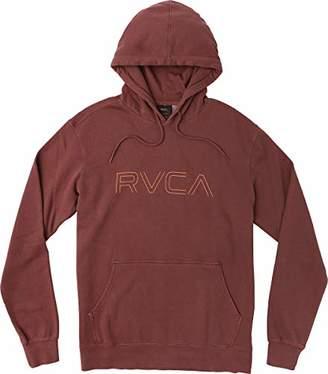 RVCA Men's Big Pigment Long Sleeve Hooded Sweatshirt