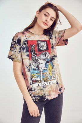 Urban Outfitters Death Tarot Tie-Dye Tee $39 thestylecure.com