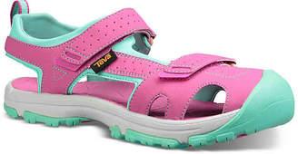 Teva Hurricane Toe Pro Toddler & Youth Sandal - Girl's