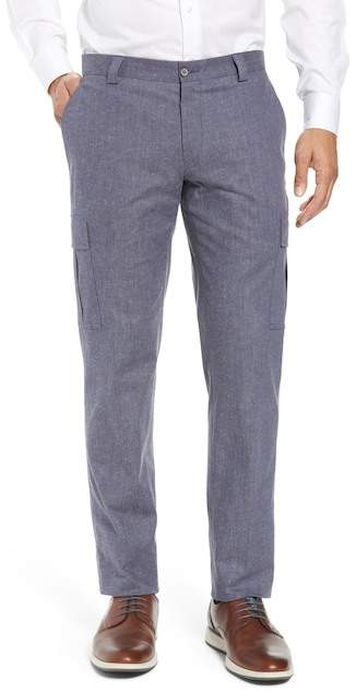H By Hickey Freeman Classic Fit Cargo Trouser