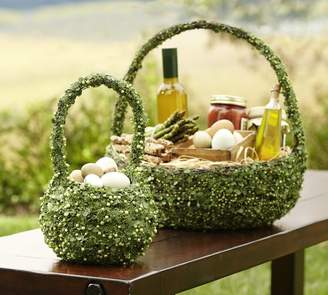 Pottery Barn Greenvine Basket