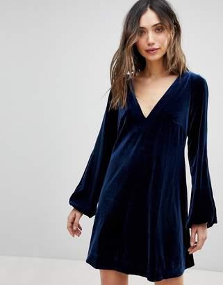 Free People Misha Velvet Dress
