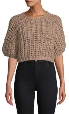 Brunello Cucinelli Knit Cropped Sweater