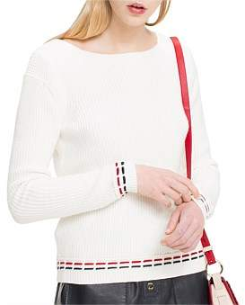 Tommy Hilfiger Wally Boat Neck Sweater