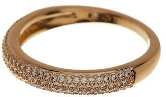 Nadri Pave CZ Thin Band Ring - Size 8