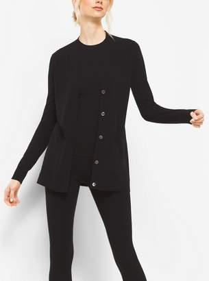 Michael Kors Stretch-Viscose Cardigan