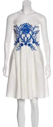 Marchesa Sleeveless Casual Dress