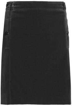 Vanessa Seward Cotton-Blend Velvet Mini Skirt