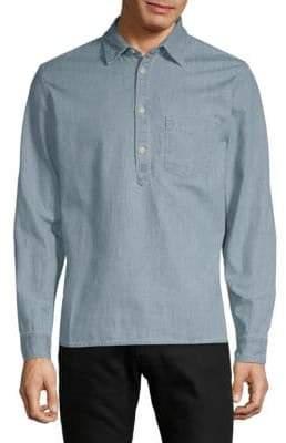 Jean Shop Slim Button-Down Shirt