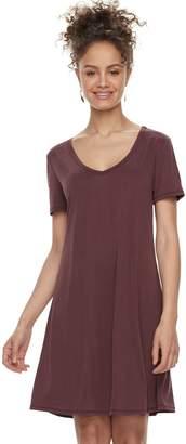 Mudd Juniors' Cupro Short Sleeve Dress