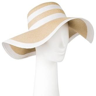 Merona Women's Stripe Floppy Hat $14.99 thestylecure.com