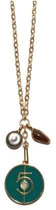 Lizzie Fortunato Fortune 5 Necklace