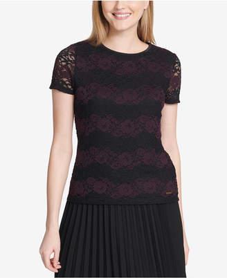 Calvin Klein Floral Lace Top