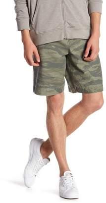 AllSaints Storm Camo Print Shorts