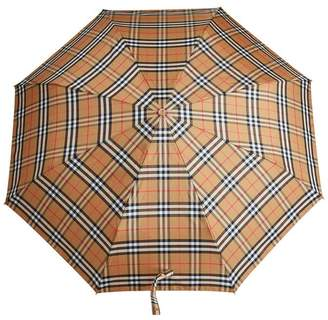 Burberry Vintage Check Folding Umbrella