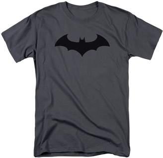 Batman T-Shirt Hush Logo Grey