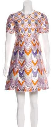 Giambattista Valli Patterned Mini Dress