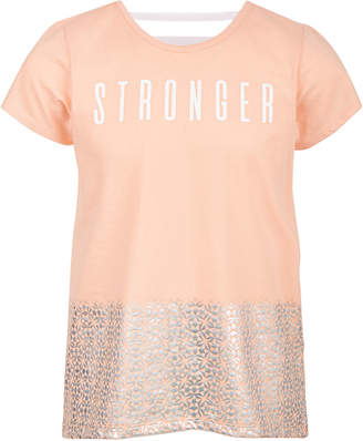 Ideology Big Girls Plus Stronger Graphic T-Shirt, Created for Macy's