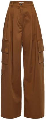 Natasha Zinko Wide-Leg Cotton Pants