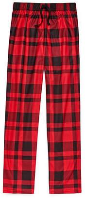 Arizona Boys Husky Flannel Pajama Pants