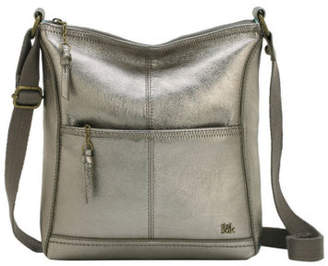 At Ebay The Sak New Iris Zip Top Crossbody Bag Pewter