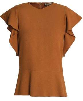 Vanessa Bruno Ruffled Crepe Top