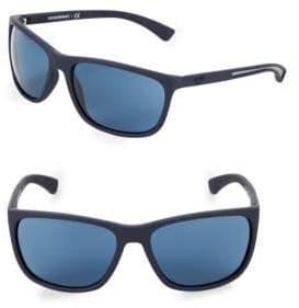 Emporio Armani EA4078 62MM Square Sunglasses