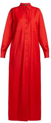 KWAIDAN EDITIONS Annik point-collar wool dress
