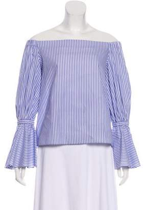 Alexis Striped Off-The-Shoulder Top