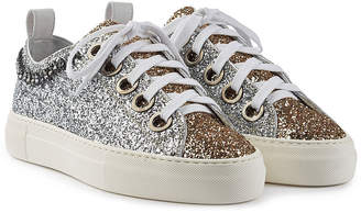 N°21 N21 Gymnic Glitter Sneakers with Embellishment