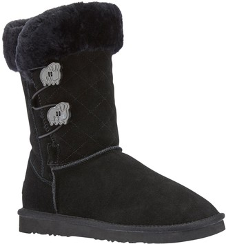 Lamo Women's Suede Boots - Wren